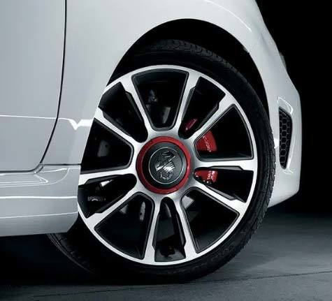 "New 17"" Granturismo alloy wheels"