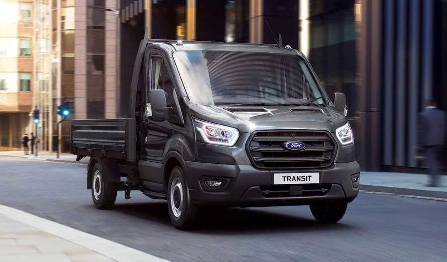 Ford Vans Transit Chassis Cab