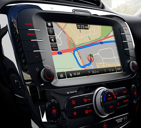 Touchscreen Satellite Navigation