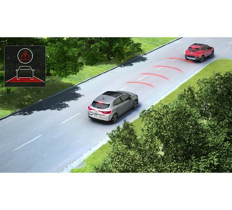 Active emergency braking system