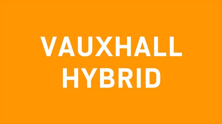Vauxhall hybrid-electric