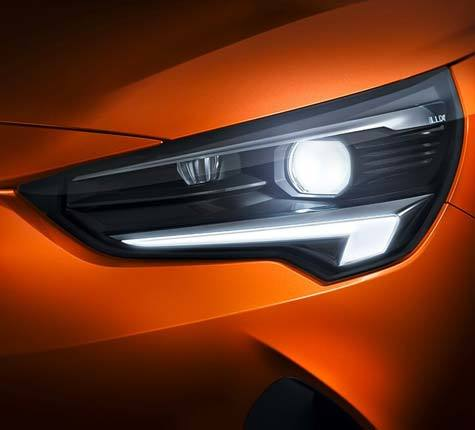 IntelliLux LED headlights